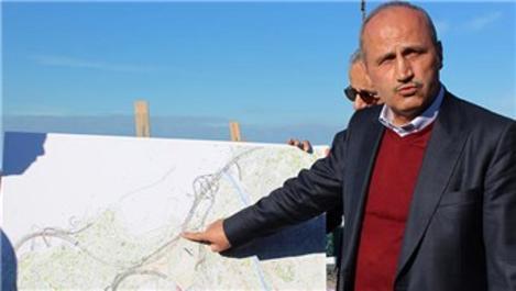 'Zigana Tüneli'nde kazı çalışmalarının yüzde 65'i tamamlandı'