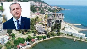 Cumhurbaşkanı Erdoğan, Ordu'daki o binayı sordu!