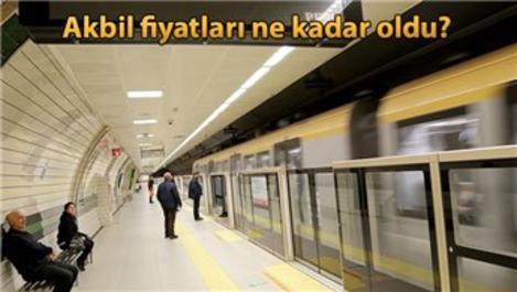 İstanbul'da zamlı ulaşım başladı!