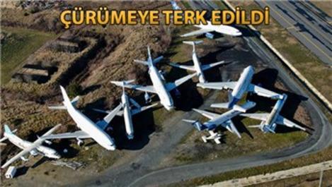 Atatürk Havalimanı'ndaki 12 uçağın sahipleri çıkmadı