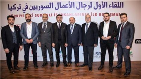 İsra Holding, Suriyeli iş insanlarıyla bir araya geldi