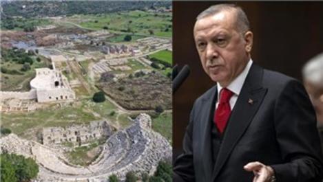 Cumhurbaşkanı Erdoğan, 2020 yılını 'Patara yılı' ilan etti