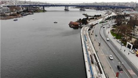 Eminönü-Alibeyköy Tramvay Hattı'nda çalışmalar durdu