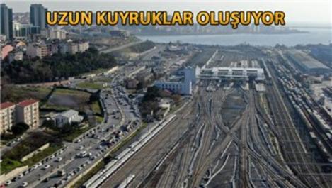 Halkalı Marmaray İstasyonu'nda otopark problemi!