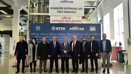 Asansör test merkezi Bursa'da hizmete girdi