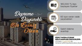 KİPTAŞ, 272 daireyi satışa çıkardı!