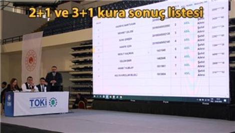 TOKİ İzmir Karabağlar sosyal konut kura sonuçları!