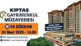 KİPTAŞ, 54 dükkanı 170 bin TL'den satışa sunuyor!
