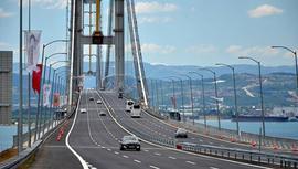 Köprü ve otoyollardan 189 milyon 525 bin TL'lik gelir!
