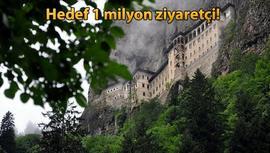 Sümela Manastırı teleferik projesi ihaleye çıkıyor