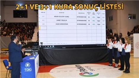 TOKİ Aliağa'daki sosyal konutlar için kuralar çekildi