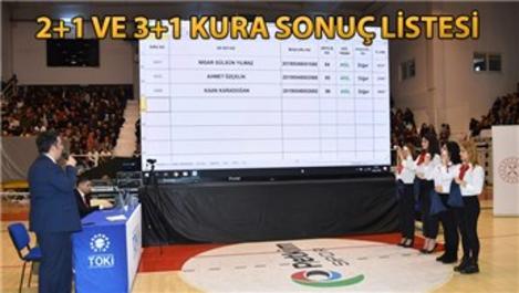 TOKİ Konya Selçuklu 1.717 konut için kuralar çekildi