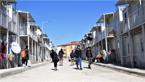 Elazığ'da 3 bin kişilik konteyner kentlere 529 aile yerleşti