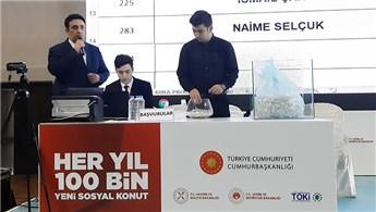 TOKİ Ankara Sincan'da 2 bin 300 konutun kurası çekildi