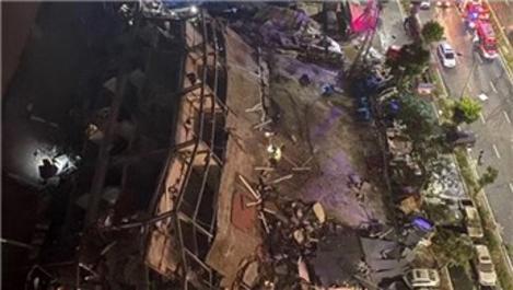 Çin'de korona hastalarının kaldığı otel binası çöktü