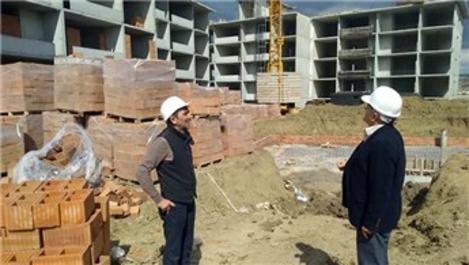TOKİ Dumlupınar'da konutları Eylül ayında tamamlanacak