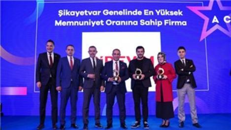 """BİREVİM'e A.C.E. Awards'tan """"Yüksek Müşteri Memnuniyeti ödülü"""