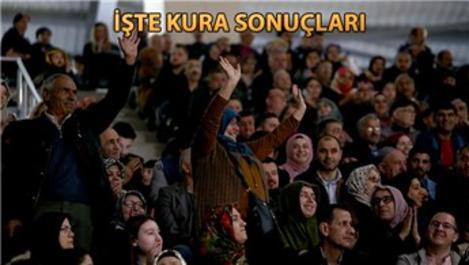 TOKİ Bursa Kestel'de kura sevinci!