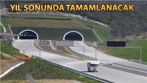 Kuzey Marmara Otoyolu'nun Kocaeli kesiminde çalışmalar sürüyor