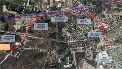 Emek-Şehir Hastanesi metro hattı ihaleye hazırlanıyor