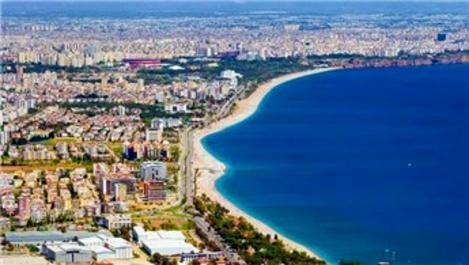 Antalya'da konut satışında yüzde 59,8 artış