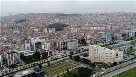 Samsun'da Şubat ayında bin 949 konut satıldı
