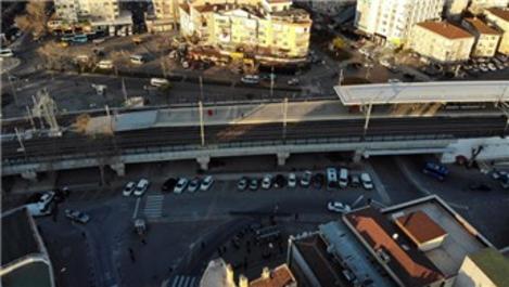 Marmaray istasyonları boş kaldı