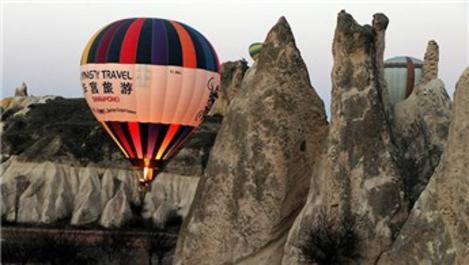 Kapadokya'da balon turları durdu, müzeler kapatıldı