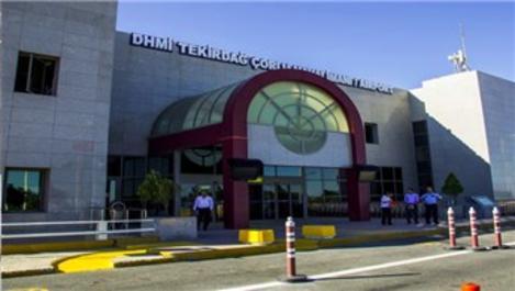 Çorlu Atatürk Havalimanı'nda uçuşlar durdu