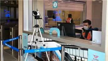 Marmaray istasyonlarında termal kameralı önlem!