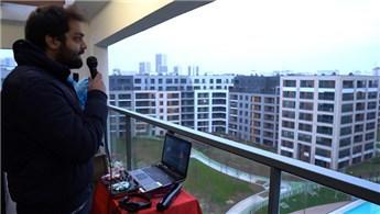 AND Pastel, balkon konserine ev sahipliği yaptı