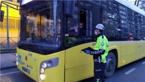 Toplu taşıma araçlarında 'sosyal mesafe denetimi' sürüyor