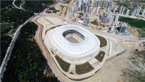 Adana'nın yeni stadyumunda sona yaklaşıldı