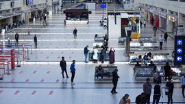 Antalya Havalimanı'nda yoğunluk yüzde 90 azaldı!