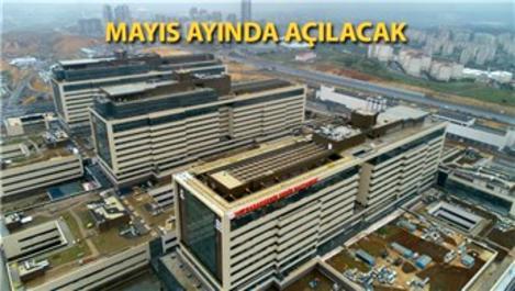 Başakşehir Şehir Hastanesi açılışa gün sayıyor