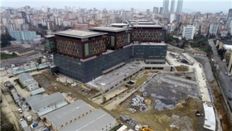 Göztepe Şehir Hastanesi inşaatında sona gelindi