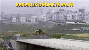 Başakşehir Şehir Hastanesi'nin yol yapımına başlandı