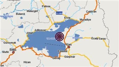 Van'da 4.7 büyüklüğünde korkutan deprem!