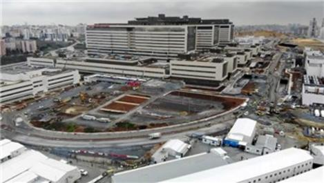 Başakşehir Şehir Hastanesi yolundaki çalışmalar sürüyor