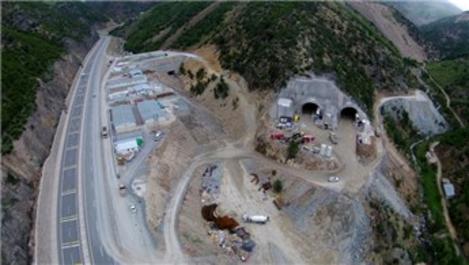 Yeni Zigana Tüneli'nin yüzde 67'si tamamlandı