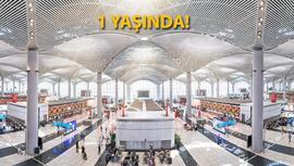 İstanbul Havalimanı ilk yılını tam kapasitede tamamladı