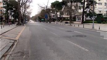 Bağdat Caddesi adeta hayalet caddeye döndü