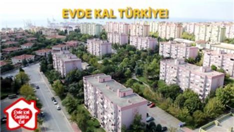 """Marmara Evleri Site Yönetimlerinden """"evde kal"""" çağrısı!"""