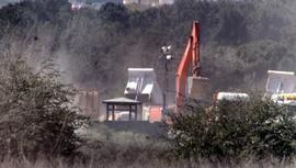 Sancaktepe'de yapılan hastanenin inşaatı devam ediyor