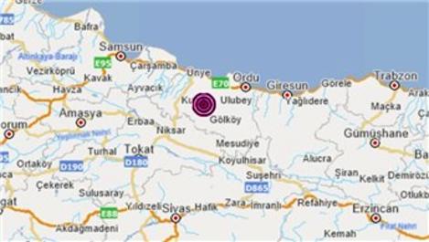 Ordu'da 4.0 deprem bilançosu: 1'i ağır 11 konut hasarlı