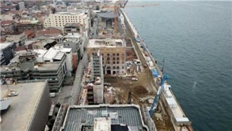 Galataport İstanbul'un inşaatı geçici olarak durduruldu