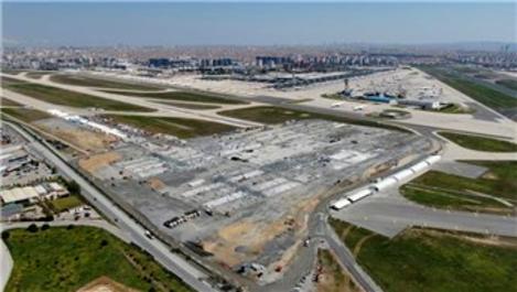 Atatürk Havalimanı'na yapılan hastanenin bina inşaatı başladı