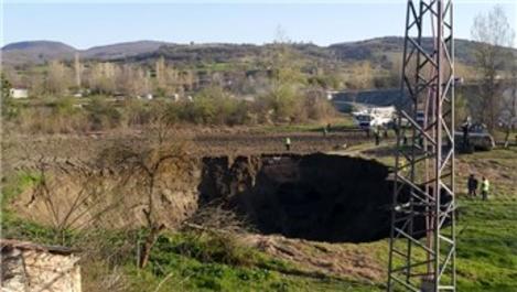 Bilecik'te YHT tünel çalışmasında göçük! Evler boşaltıldı!