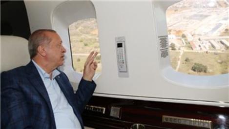 Başkan Erdoğan'dan pandemi hastaneleri için ağaçlandırma talimatı