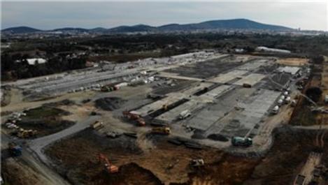 Sancaktepe'deki salgın hastanesinin inşaatı ne durumda?